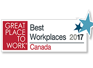 GREAT PLACE TO WORK 2017 (CANADA)